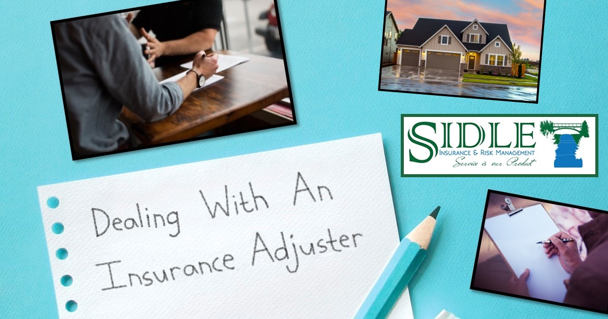 Title Photo - Dealing With An Insurance Adjuster