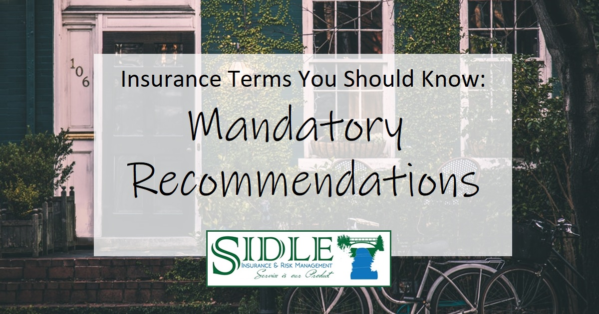 Title Photo - Mandatory Recommendations