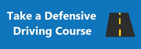 Button to take a defensive driving course